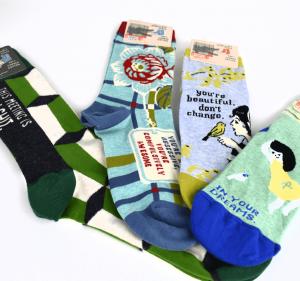 Wide variety of socks