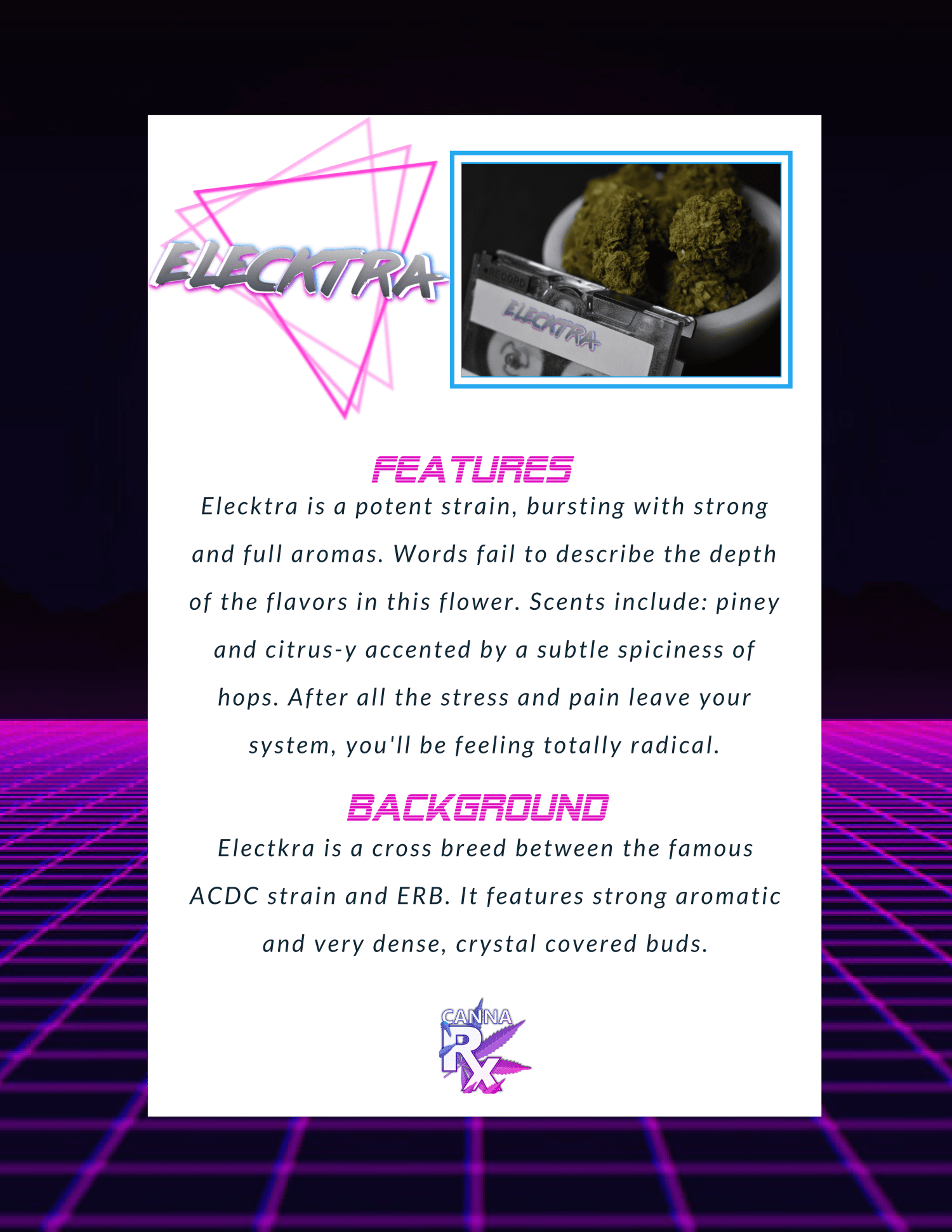 elecktra features